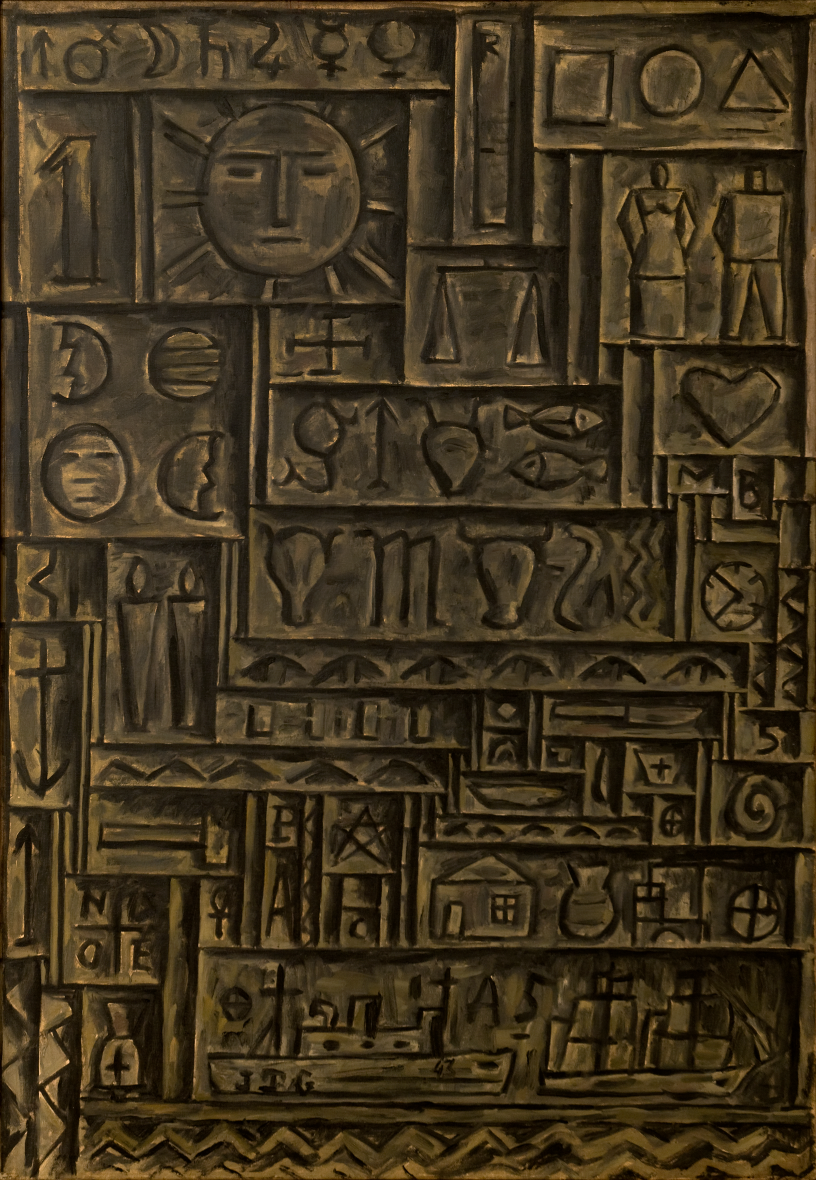 Torres García, Joaquín. Arte Universal. Año 1943. Tomada de: http://autores.uy/obra/7811