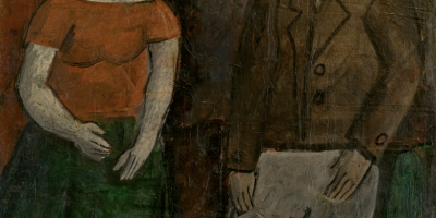 Torres García, Joaquín. Figuras. Año 192. Tomado de: http://autores.uy/obra/7809