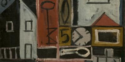 Torres García, Joaquín. Pintura constructiva. Año 1932. Tomado de: http://autores.uy/obra/7803