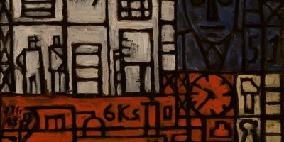 Torres García, Joaquín. Pintura constructiva. Año 1943. Tomado de: http://autores.uy/obra/7798